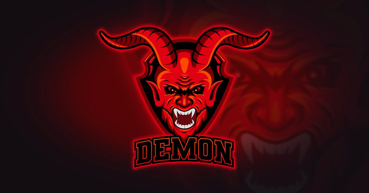 Download Demon - Mascot & Esport Logo by aqrstudio