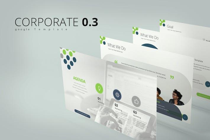Thumbnail for Corporate 0.3  Google Slides