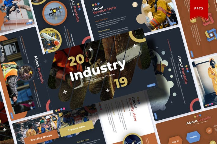 Cover Image For Industry | Powerpoint Template