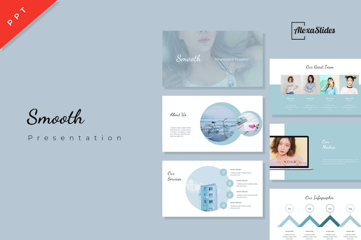 Smooth - Powerpoint Presentation Template