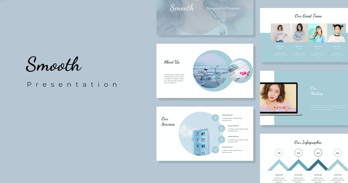 Download Smooth - Powerpoint Presentation Template by alexacrib