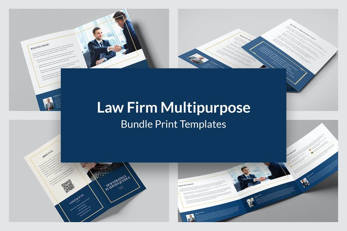 Thumbnail for Law Firm – Bundle Print Templates