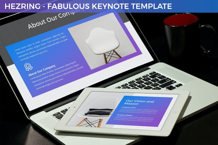 Thumbnail for Hezring - Fabulous Keynote Template