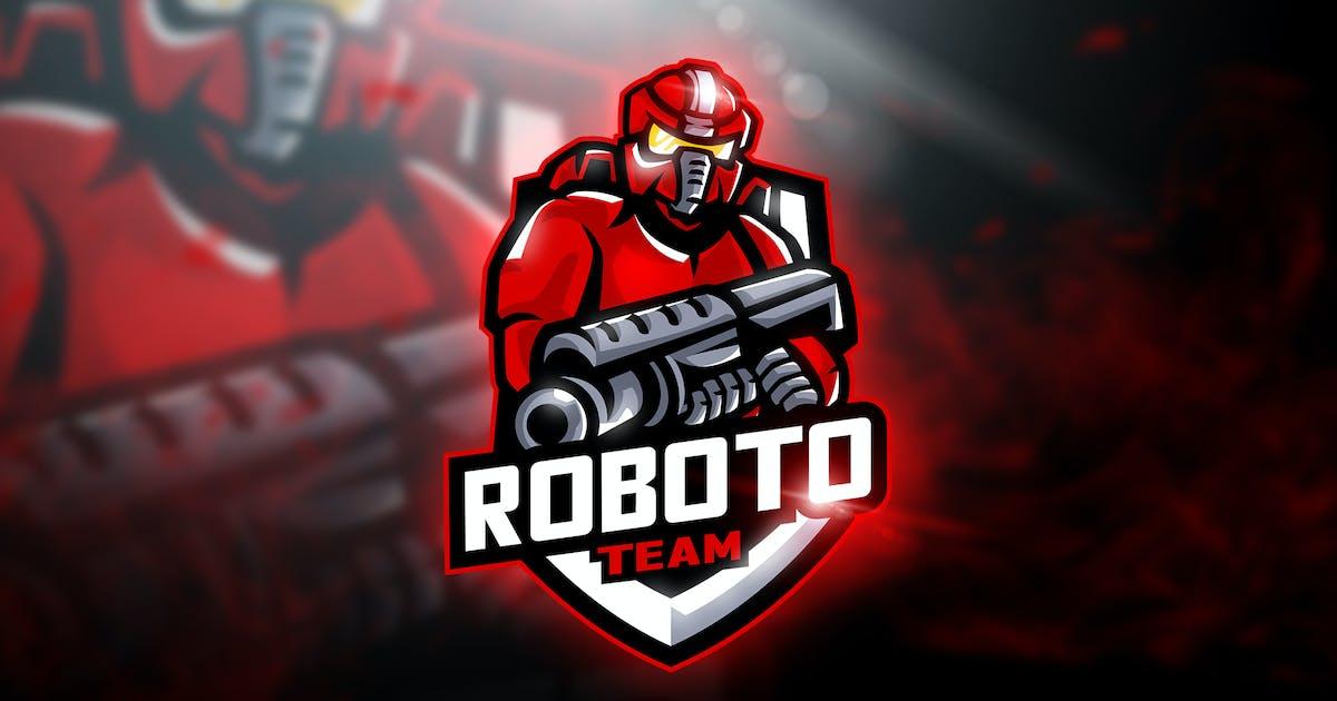 Download Roboto Team - Mascot & Esport Logo by aqrstudio