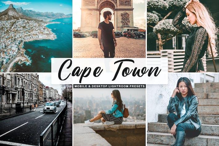 Thumbnail for Cidade do Cabo Mobile & Desktop Ajustes preestablecidos de Lightroom