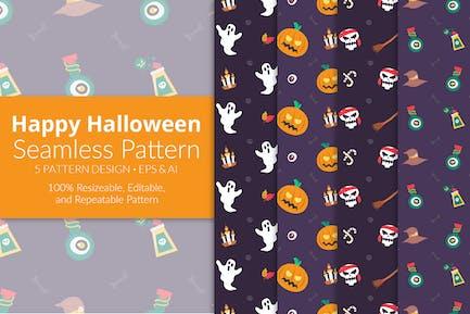 Illustration Halloween Patterns