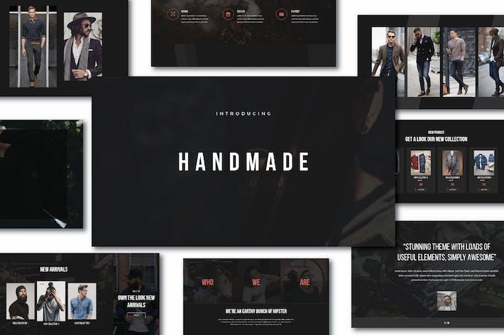 Thumbnail for Hipster Handmade Keynote