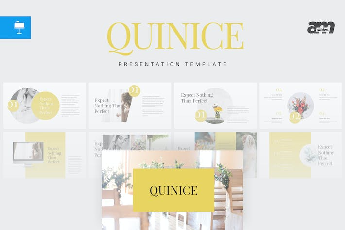 Thumbnail for Quinice - Keynote Template