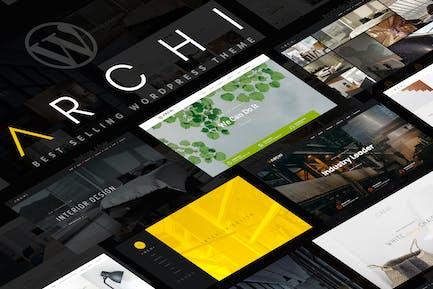 Archi - Innenarchitektur WordPress Thema