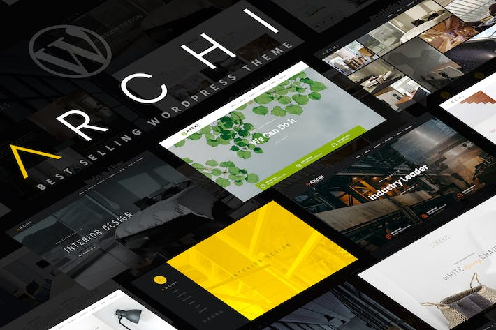 Archi - Innenarchitektur WordPress Thema
