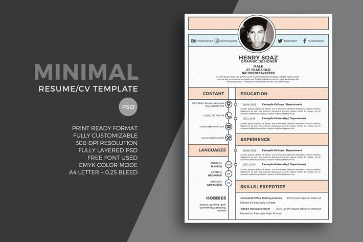 10 162 Resume Templates Graphic Templates Compatible With