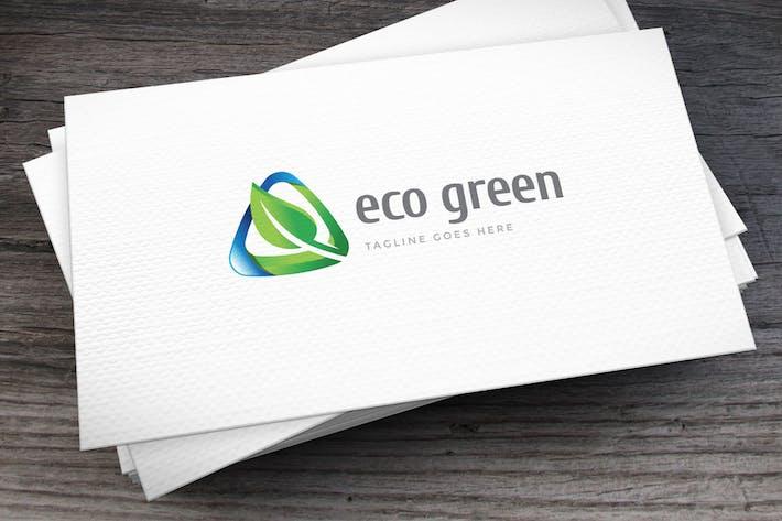 Thumbnail for Eco Green Logovorlage