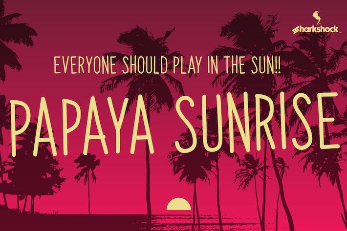 Thumbnail for Papaya Amanecer