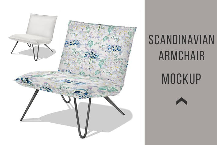 Thumbnail for Vintage Armchair Mockup