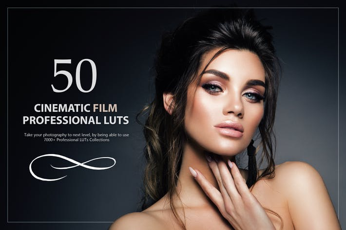 Thumbnail for 50 Cinematic Film LUTs Pack