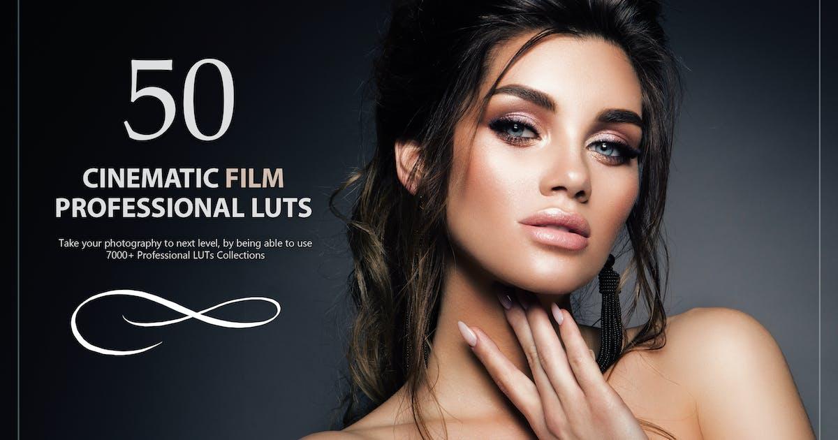 Download 50 Cinematic Film LUTs Pack by Eldamar_Studio
