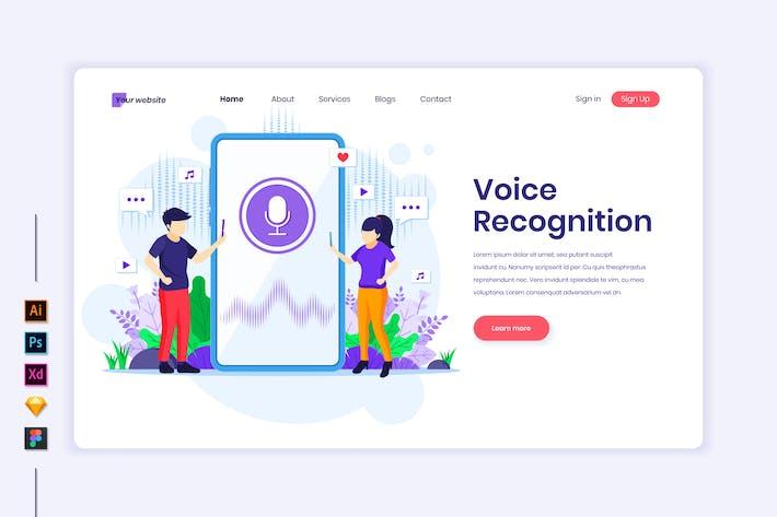 Voice Recognition Illustration - Agnytemp