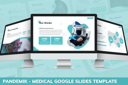 Pandemik - Medical Google Slides Template