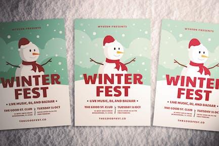 Weihnachten Flyer