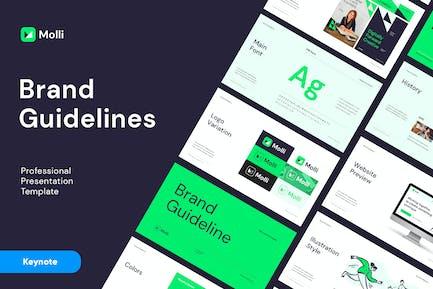 MOLLI - Brand Guidelines Keynote
