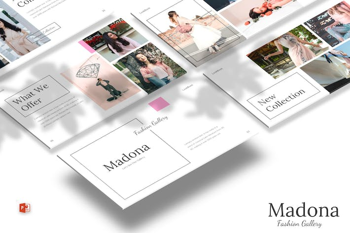 Thumbnail for Madona - Powerpoint Template