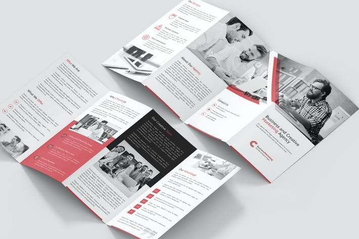 Thumbnail for Brochure – Business Marketing 4-Fold