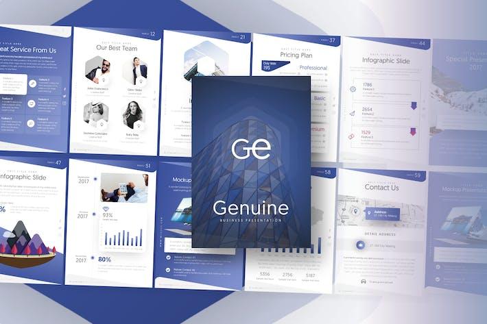 Genuine Business Presentation