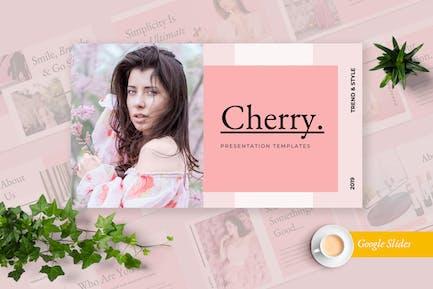 Cherry Google Slides Presentation