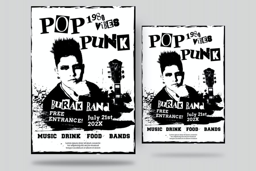 Pop Punk Flyer