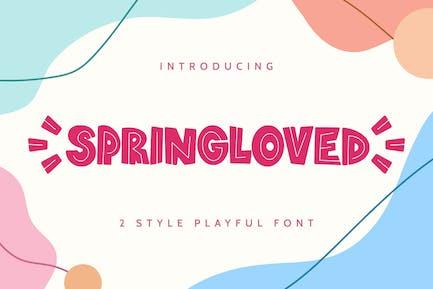 Springloved - Fuente juguetona
