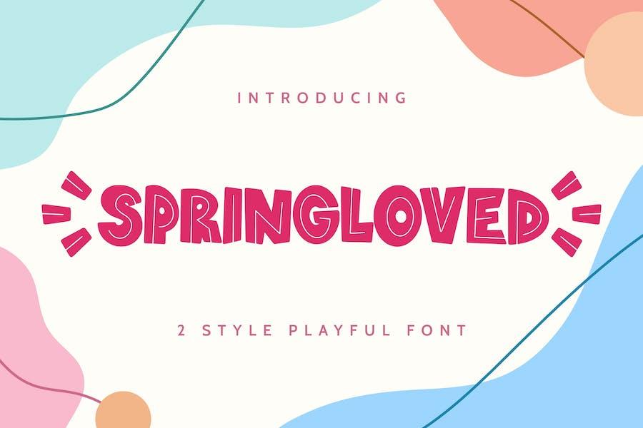 Springloved - Playful Font