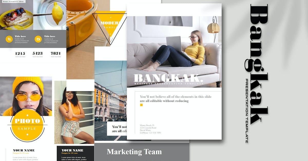 Download Bangkak - A4 Powerpoint Template by Artmonk