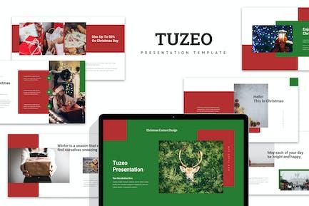 Tuzeo : Christmas Event Promo Powerpoint