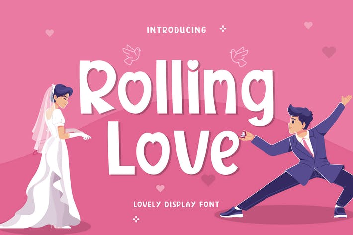 Rolling Love Display Fuente