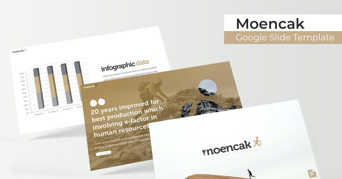 Download Moencak - Google Slide Template by IanMikraz
