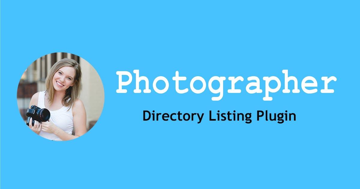 Download Photographer Directory - WordPress Plugin by e-plugins