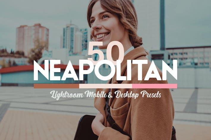 Cover Image For 50 Neapolitan Lightroom Presets LUTs