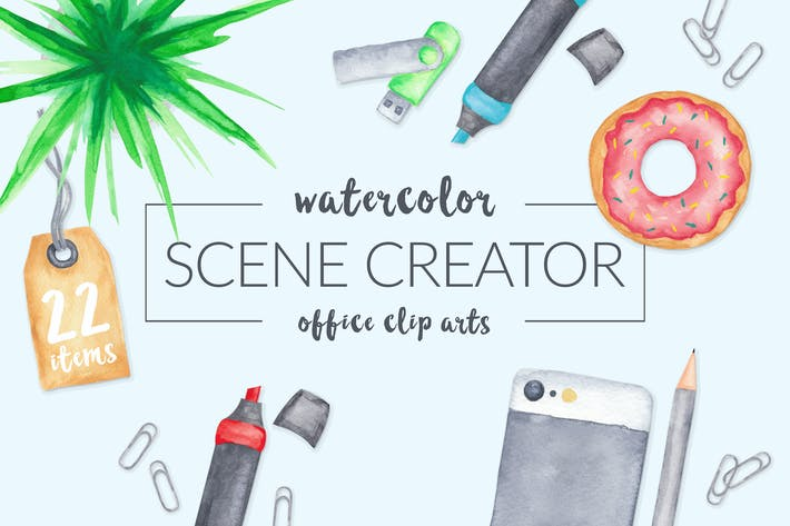 Thumbnail for Watercolor Scene Creator
