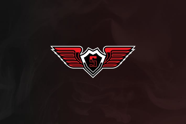 Thumbnail for Sky Army - Wings Mascot & Esport Logo V.2