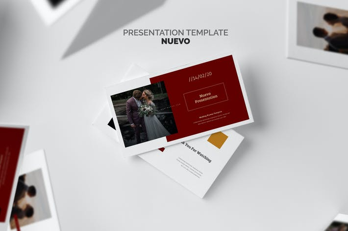 Thumbnail for Nuveo : Wedding Planner and Organizer Powerpoint