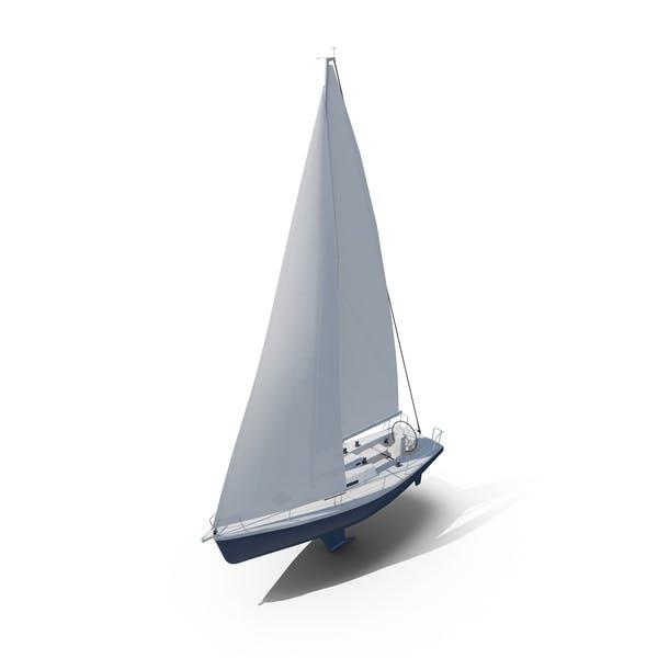 Парусная лодка