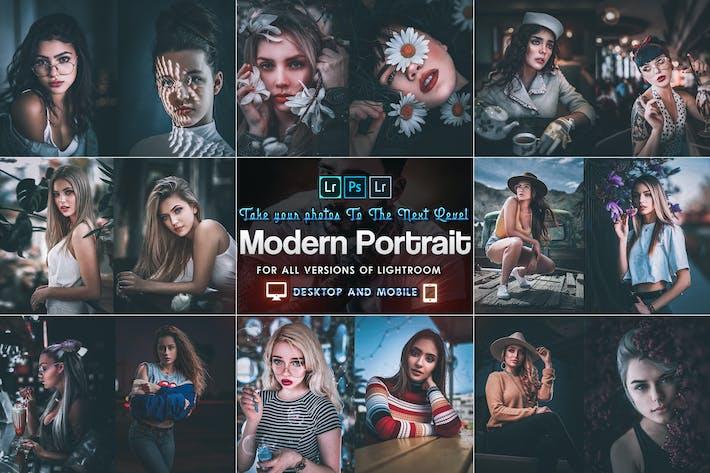 Thumbnail for Modern Portrait Ajustes preestablecidos Iluminación móvil y de escritorio