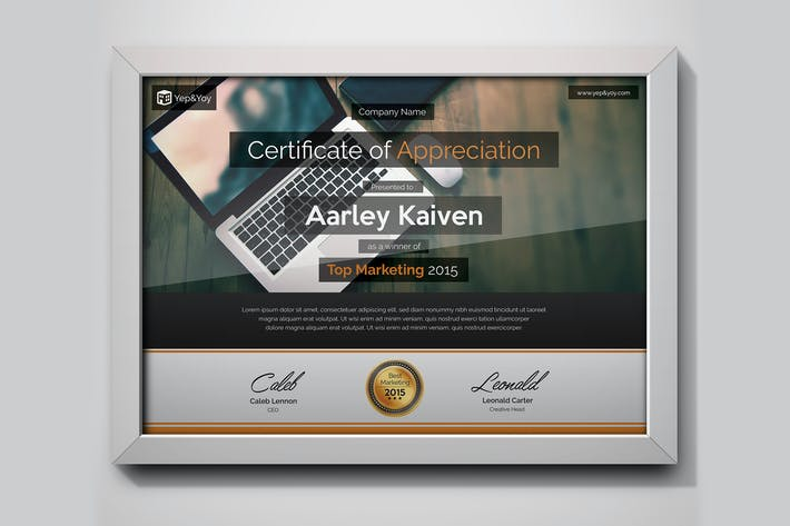 Thumbnail for Corporate Certificate