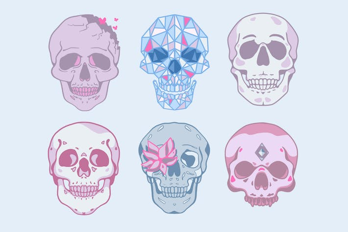 Thumbnail for Skulls Clipart