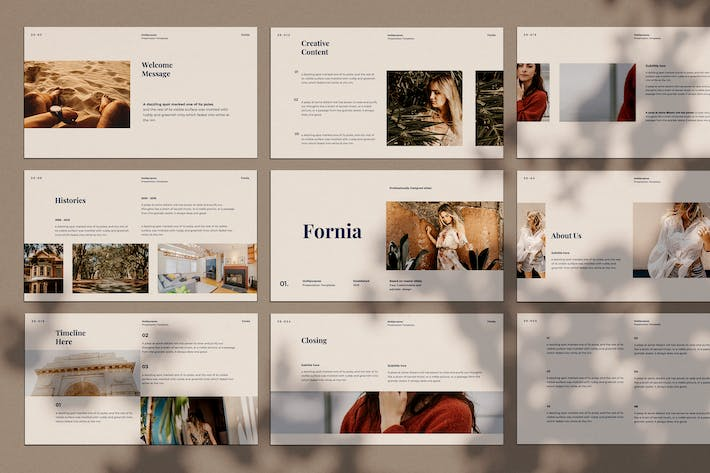 Thumbnail for Fornia - Keynote Template