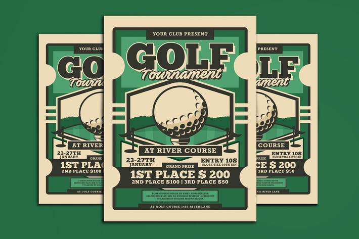 Thumbnail for Golf Tournament Flyer