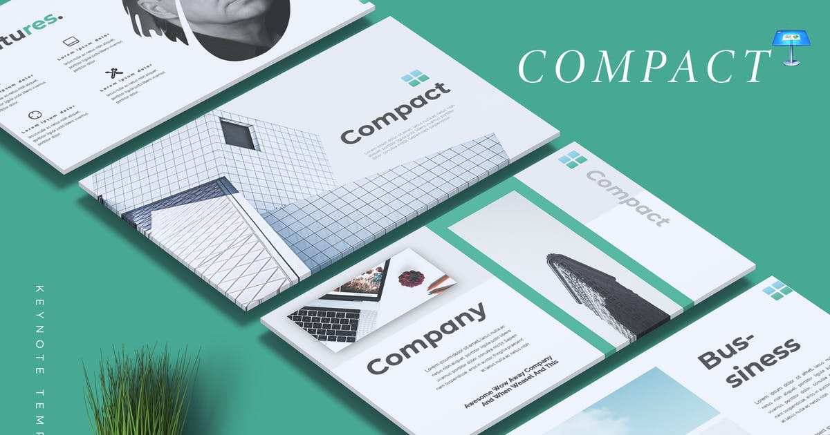 Download COMPACT - Business Keynote Template by RahardiCreative
