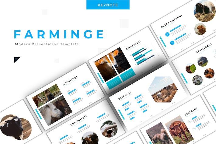 Thumbnail for Farminge - Google Slide Template