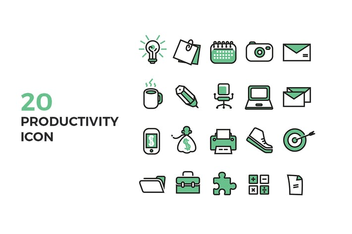 Thumbnail for Productivity Icons