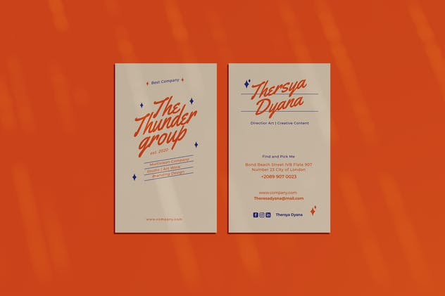 Thunder Group Business Card